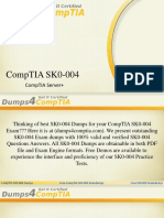 Pass COMPTIA SK0-004 Exam -Test Questions Convert Vce to PDF