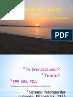 Prof. Simionescu-Agresiunea_solara_cutanata Studenti 2016