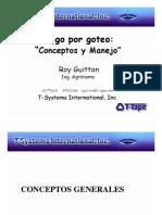 Riego Por Goteo Manejo