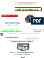 Clase Inicial de Ingenieria i 2 017 II Angel Quispe Talla Unasam Fiia