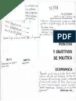 1971_Hutchison_Economía Positiva y Objetivos de Política Económica