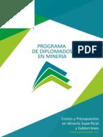 Ds18-Costos y Presupuestos en Mineria Superficial y Subterranea