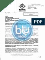 Procuraduría pide revocar licitación de semáforos inteligentes en Bogotá