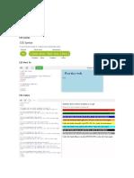 Practicas de HTML en CSS
