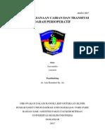 Referat Terapi Cairan Dan Transfusi Perioperatif