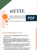 5 Presentacion Retie 2013 Cap. 3