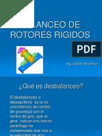 Balanceo de Rotores Rigidos
