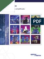 catálogo técnico simplificado