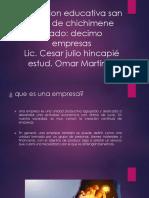 Institucion Educativa San Isidro de Chichimene