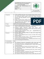 8.7.4.4 SOP Evaluasi Dan Tindak Lanjut Terhadap Pelaksanaan Uraian Tugas Dan Kewenangan Klinis
