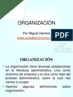 Organizacion Estructuras