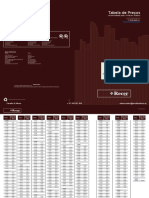 Recer 2013 - Carvalho & Afonso - Tabela de preços