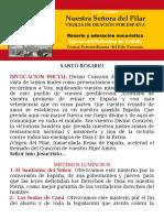 ROSARIO Y VIGILIA DE ORACIÓN POR ESPAÑA