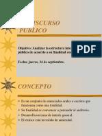 Estructura Del Discurso Publico