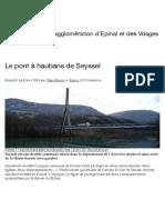 Le pont à haubans de Seyssel – TransVosges