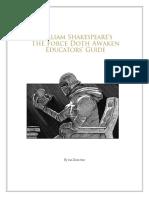 The Force Doth Awaken Educators Guide