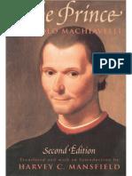 Niccolo Machiavelli, Harvey C. Mansfield (Translator)-The Prince-University of Chicago Press (1998)
