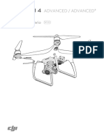 MANUAL DE USUARIO PHANTOM 4 ADVANCED +