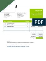 Template Invoice Microsoft Word gitulH