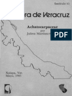 Flora de Veracruz Achatocarpaceae
