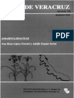 Flora de Veracruz Amaryllidaceae
