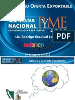 Mexico y Su Oferta Exportable Semana PyME