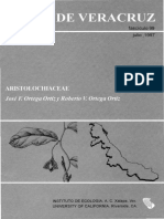 Flora de Veracruz Aristolochiaceae
