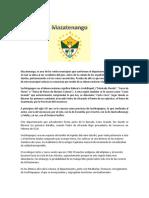 Historia Del Municipio de Mazatenango