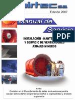 MANUALde Servicio Ventiladores Axiales 200-1