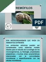 Microrganismo en Ambiente Extremos 2017