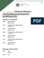 · EuroPython 2016 · Bilbao, 17–24 July 2016