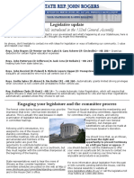 Rogers October ENL 2017 - Legislative Update