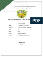 Quimica Anlitica Practica Nº 2