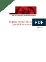 Microservices Polyglot Ocp