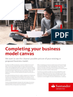 Business Model Canvas Support Document