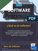 El Software, Tipos de Software, Clasificación y Tipos de licencia