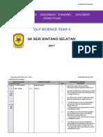 RPT (DLP)Science Year 5 2017