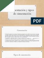Cimentación y Tipos de Cimentación Brayan Alvarez