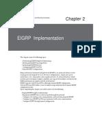 EIGRP ccnp route