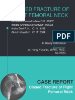 6239_Case Report - Closed Fracture of Right Femoral Neck.pptx