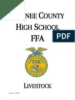 oconee county livestock team handbook