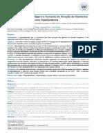 Grande Acúmulo de Colágeno e Aumento Da Ativação de Mastócitos