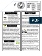 October 2008 White Bird Newsletter Peace River Audubon Society