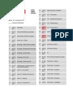 Course Schedule - Be a Maker - Google Docs