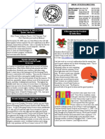 November 2008 White Bird Newsletter Peace River Audubon Society