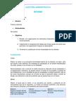 Ejemplo de Informe en Auditoria Administrativa