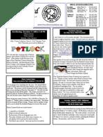 December 2009 White Bird Newsletter Peace River Audubon Society