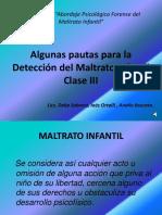 Clases III Mi Delia Sobrero