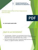 Ponencia CRITERIOS BASICOS DE ESTRUCTURACIÓN