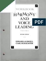 Harmony And Voice Leading Pdf